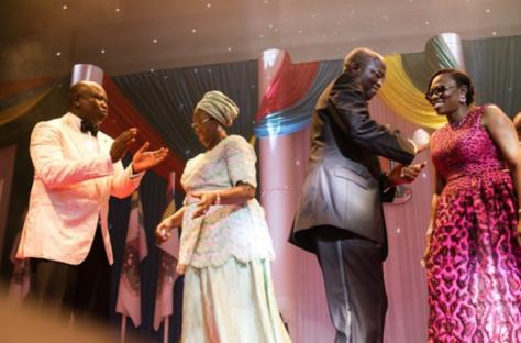 Inauguration Ball: Ambode, Dame Abimbola Fashola, Babatunde Fashola and Bolanle Ambode